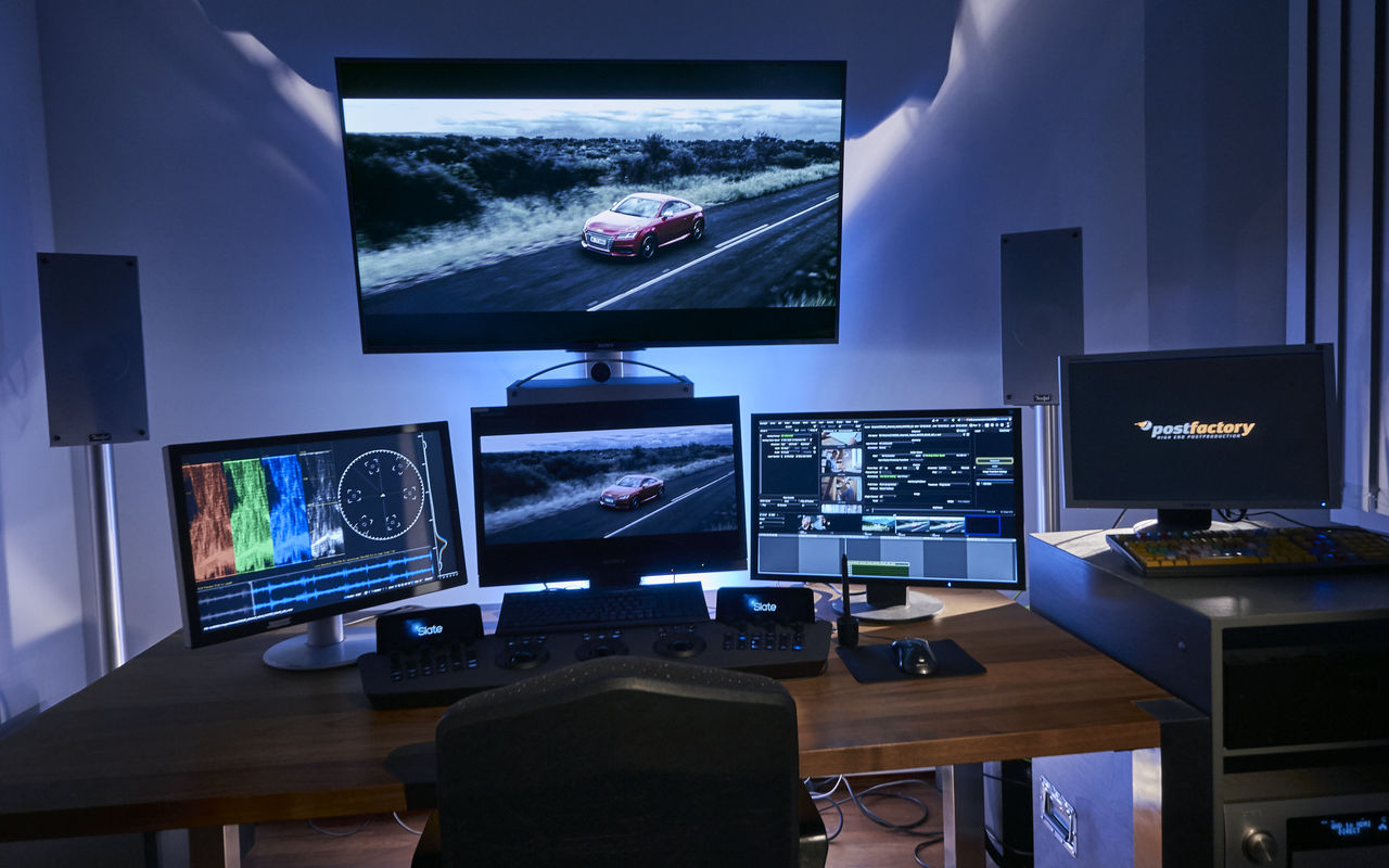 PostFactory Baselight ONE Suite