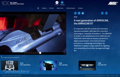 100 Years of ARRI ARRISCAN XT