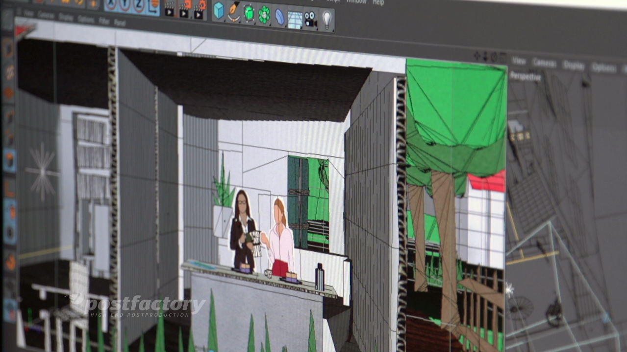PostFactory Motion Graphics Waretest - Screen