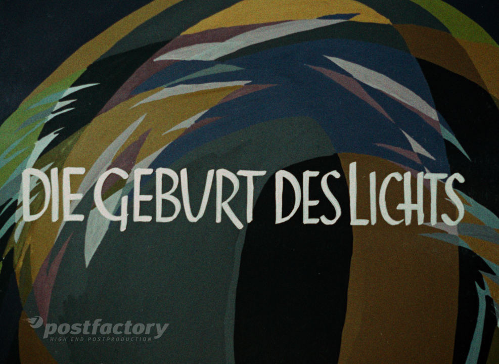 Franz Schömbs: Die Geburt Des Lichts