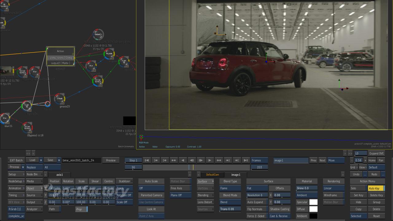 PostFactory Flame - BMW Mini