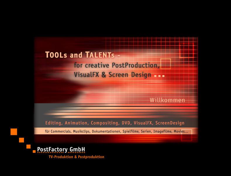 PostFactory Startseite 2003