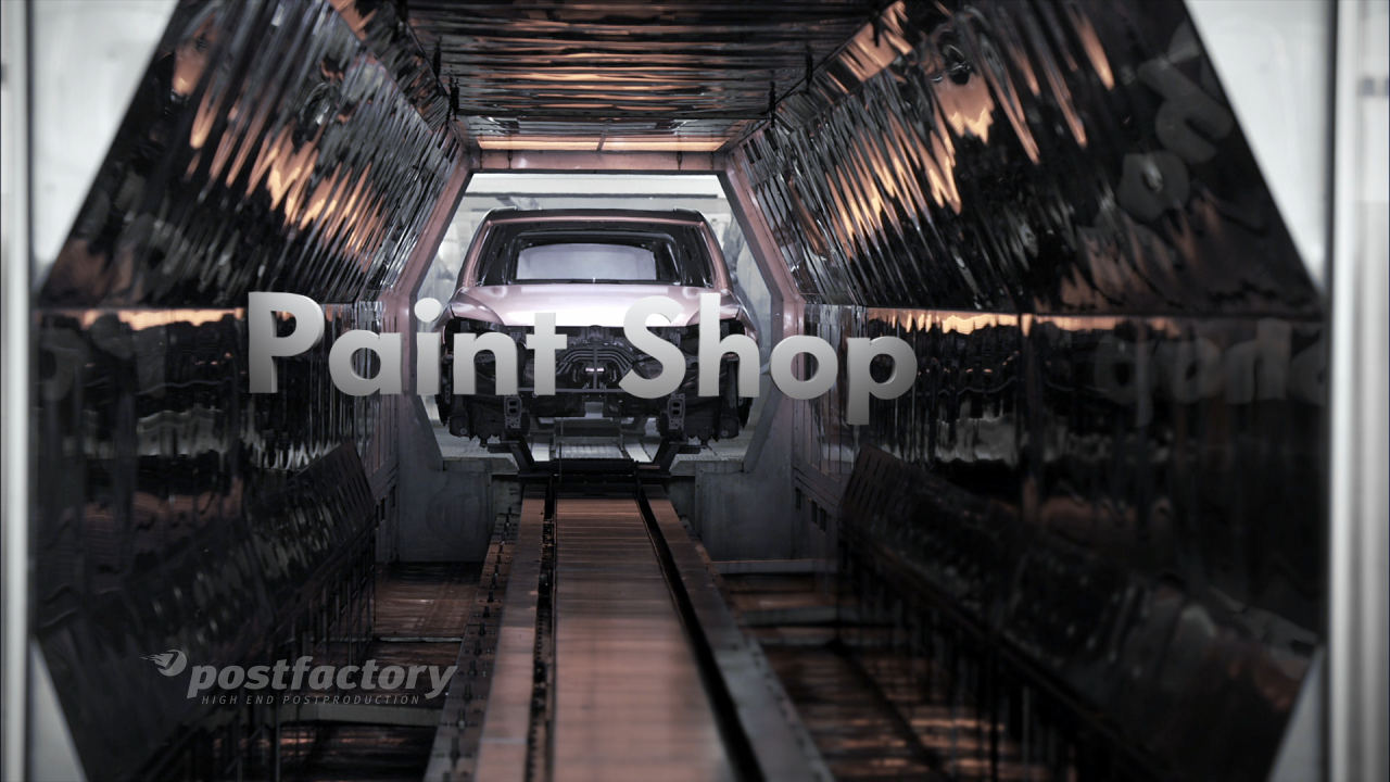 PostFactory Motion Graphics 3D-Typo