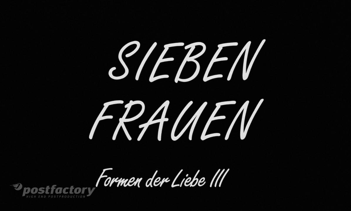 PostFactory | Rudolf Thome: Sieben Frauen