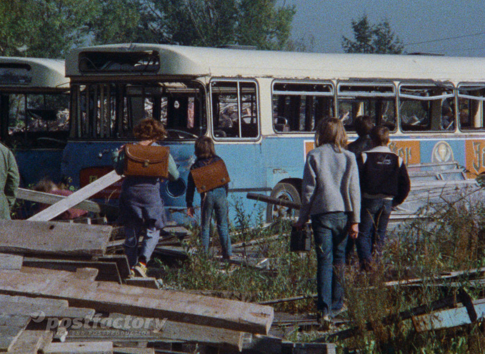 PostFactory   Stiftung Deutsche Kinemathek: Die letzten Jahre der Kindheit