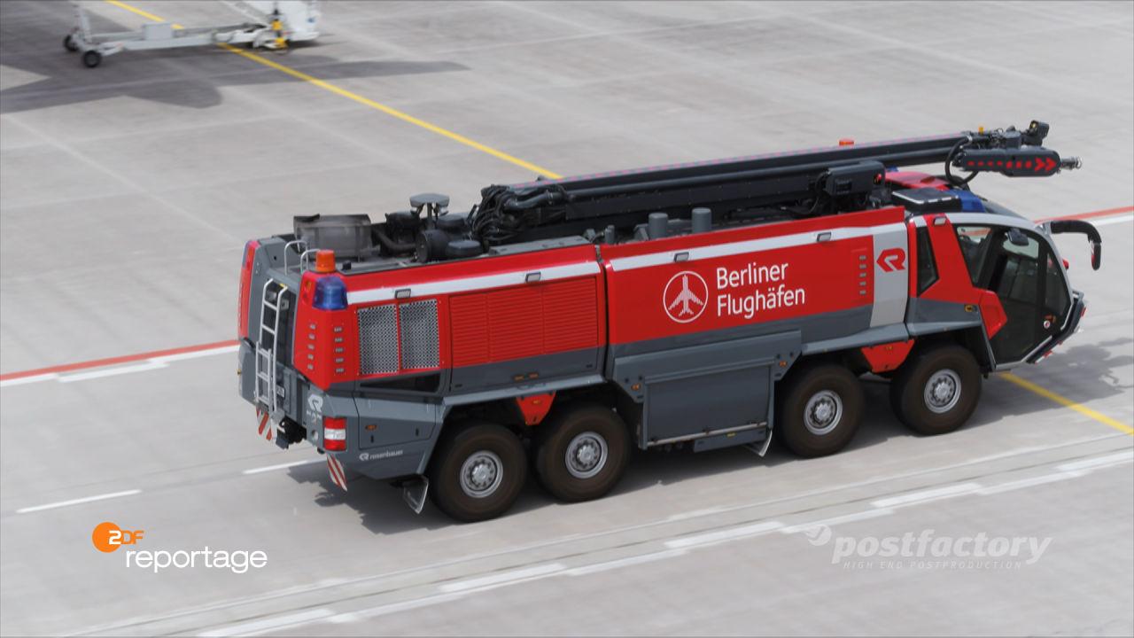 PostFactory ZDF Reportage Behrendt Alkhannak: Flughafen Berlin - Der Pannen-Airport BER geht an den Start