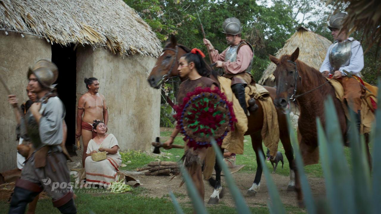 PostFactory Storyhouse ZDF Terra X Azteken