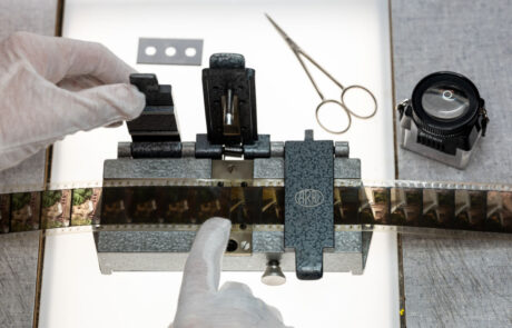 Cinegrell Postfactory manuelle Reparatur