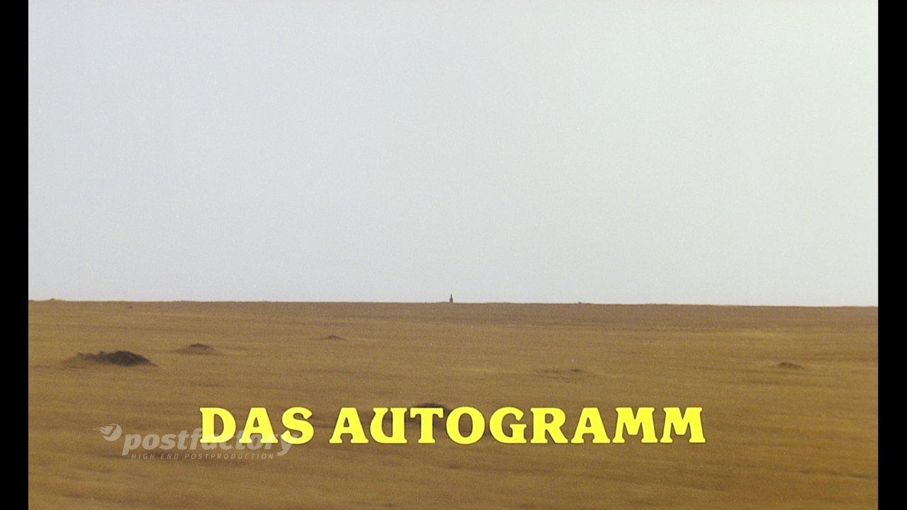 Das Autogramm - Film