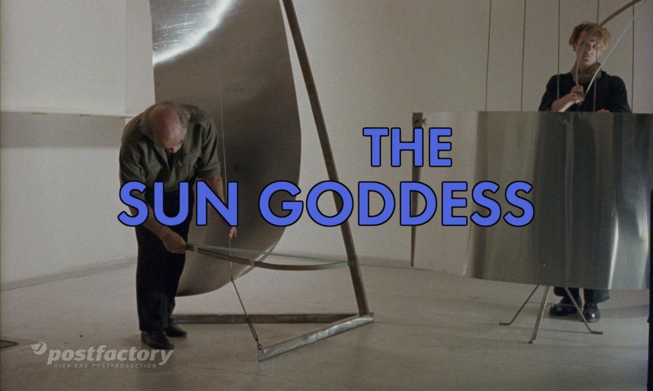 Die Sonnengöttin