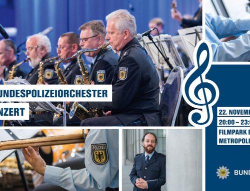 Drei Bundespolizeiorchester – Ein Konzert