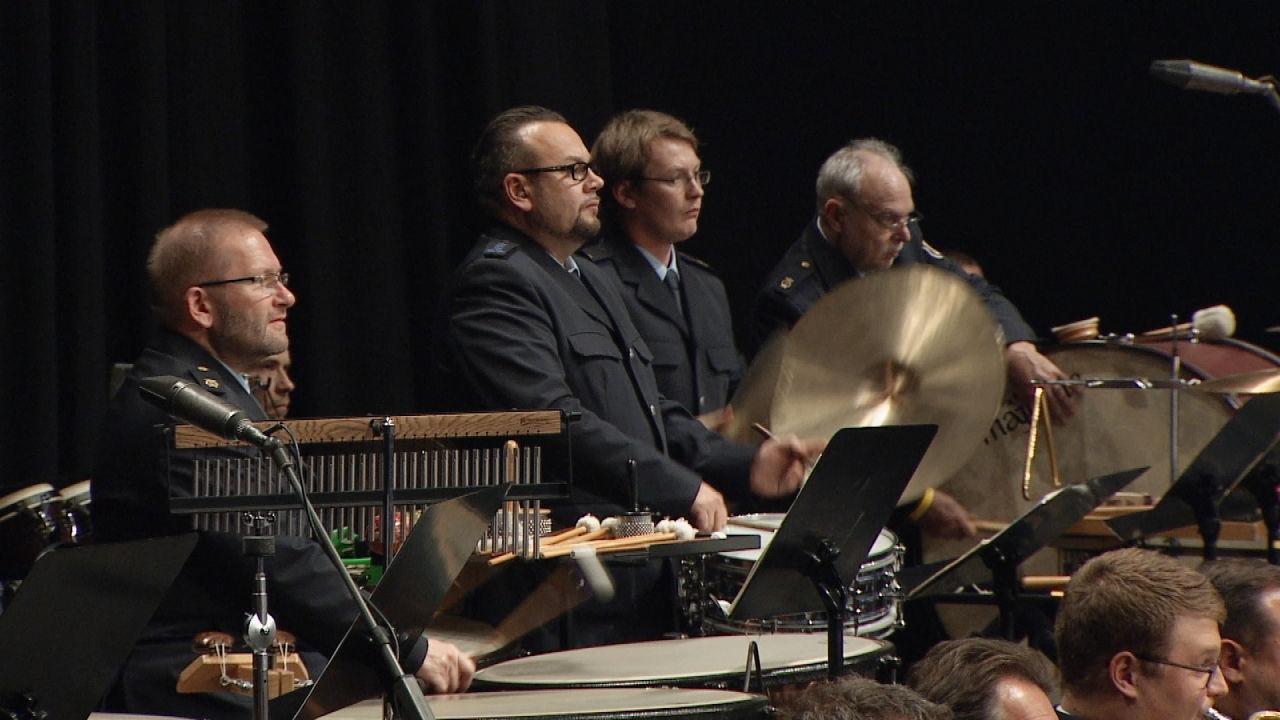 Drei Bundespolizeiorchester - Ein Konzert