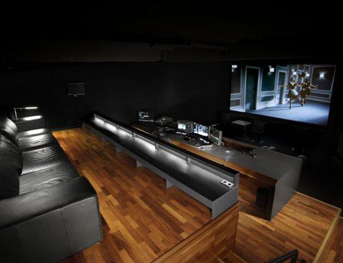 2008 – Einbau des DCI Grading Cinema