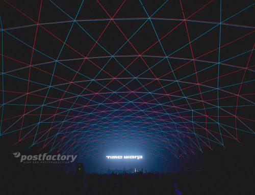 PostFactory GmbH beim Timewarp Festival im Einsatz