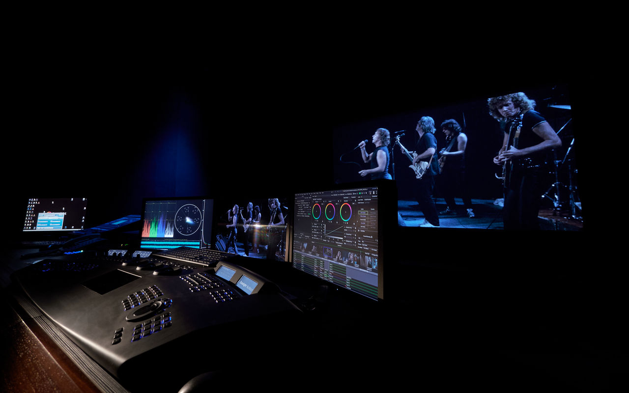 PostFactory DCI Cinema Baselight TWO