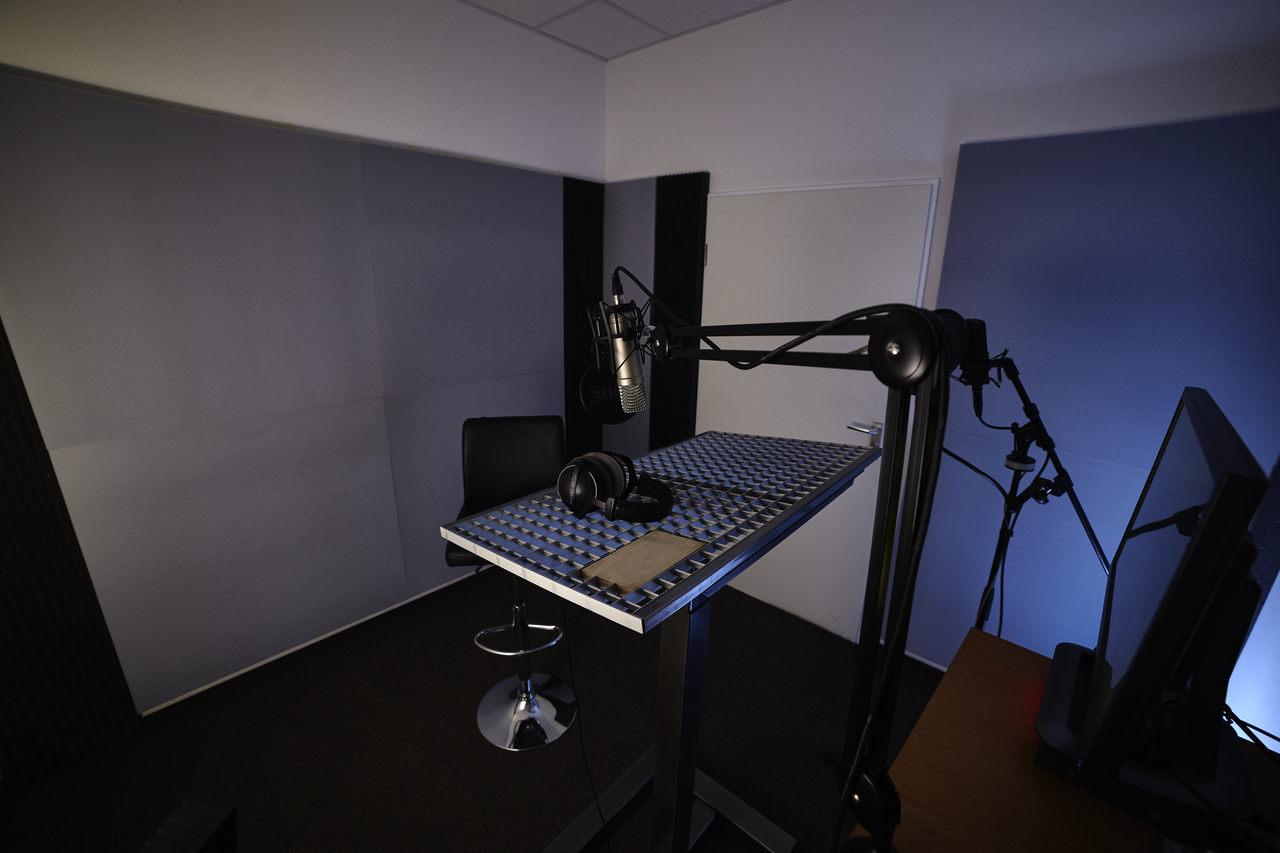 PostFactory Sound - Sprecherkabine