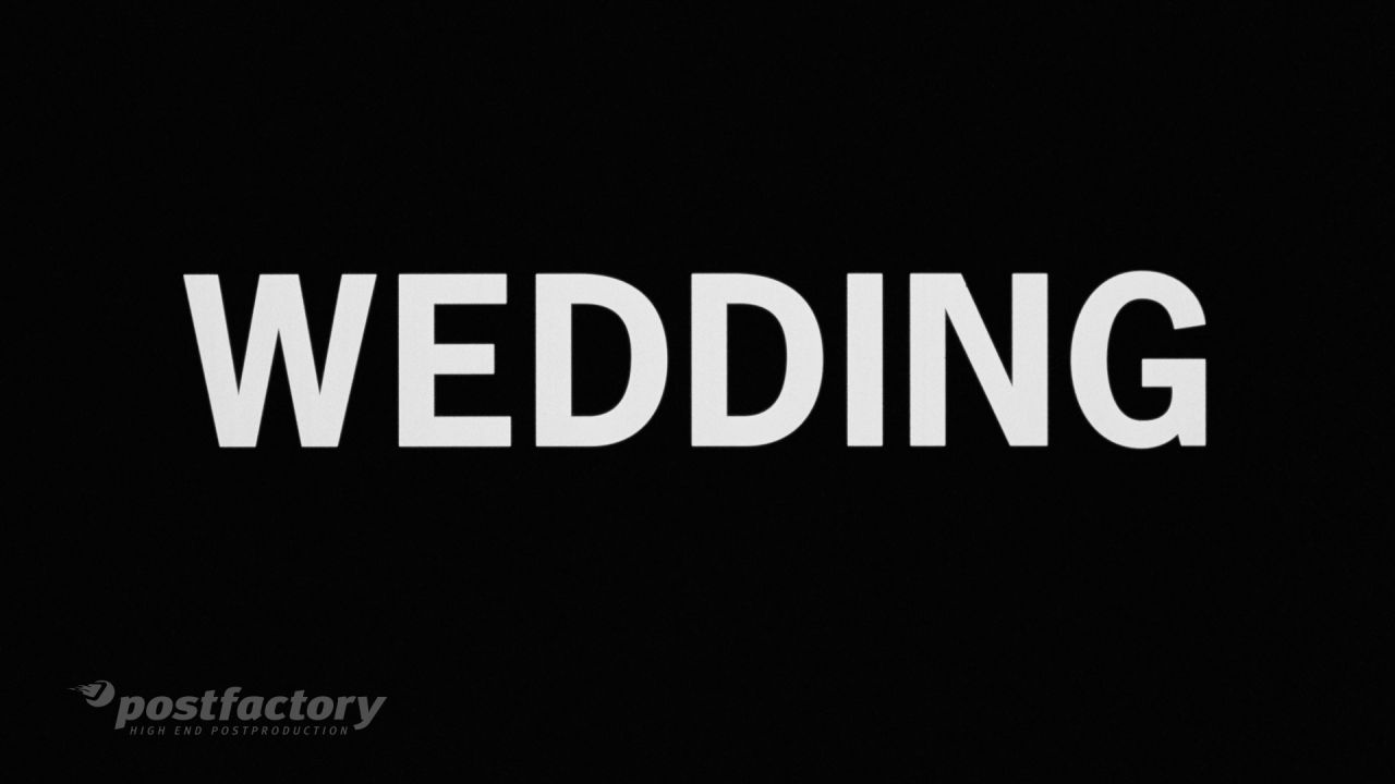 PostFactory: Wedding - Film