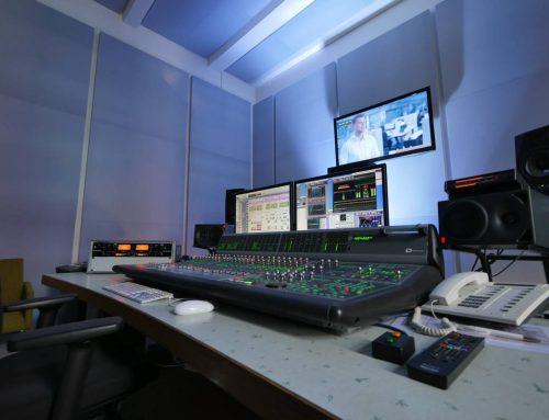 2012 – Bau des Tonstudios – Pro Tools