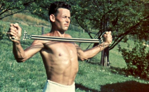 Sportwettkämpfe in Reutlingen 1936. Fotoquelle: SWR/DOKfilm, über Haus des Dokumentarfilms