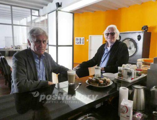Regisseur Rudolf Thome zu Besuch bei der PostFactory GmbH