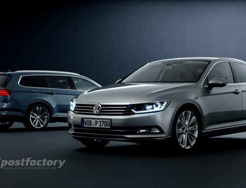 VW Passat Teaser 2014